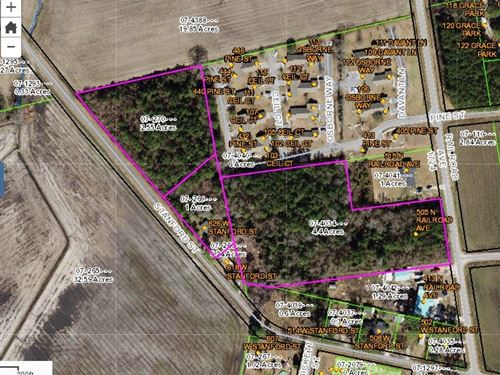 Development Land Multi-Family : Beulaville : Duplin County : North Carolina