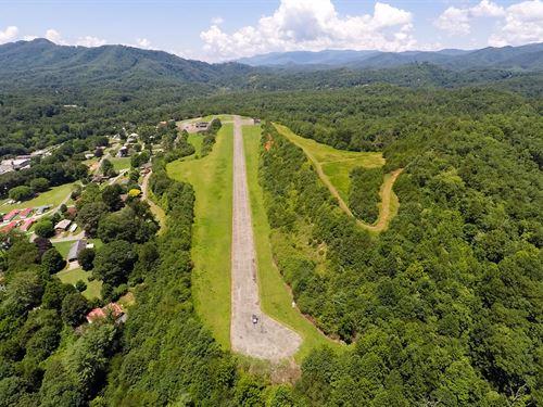 Bryson City Air Strip Mid-Century : Bryson City : Swain County : North Carolina