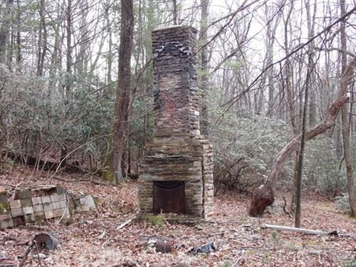 Over Six Acres NC Mountain Land : Glade Valley : Alleghany County : North Carolina