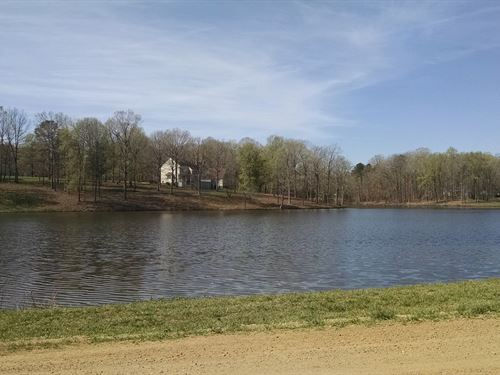 Wooded Lakeview Lot Chatham : Goldston : Chatham County : North Carolina
