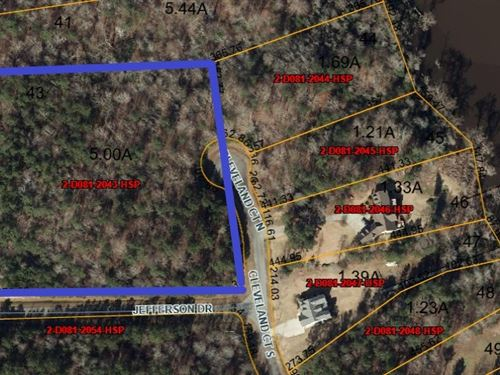 4+ Acre Lot, Across From The River : Hertford : Perquimans County : North Carolina