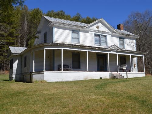 Home Acreage Alleghany CO NC Piney : Piney Creek : Alleghany County : North Carolina
