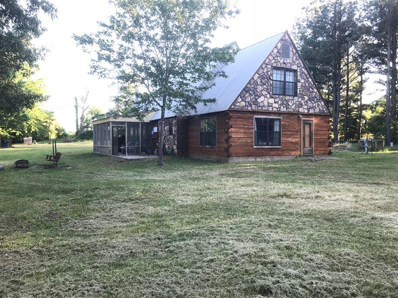 Cabin On 25 Acres In Atoka Ok Farm For Sale Atoka