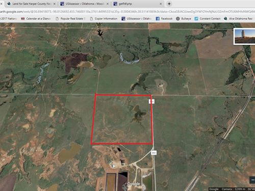 Northwest Oklahoma Farmland Acreage : Avard : Woods County : Oklahoma
