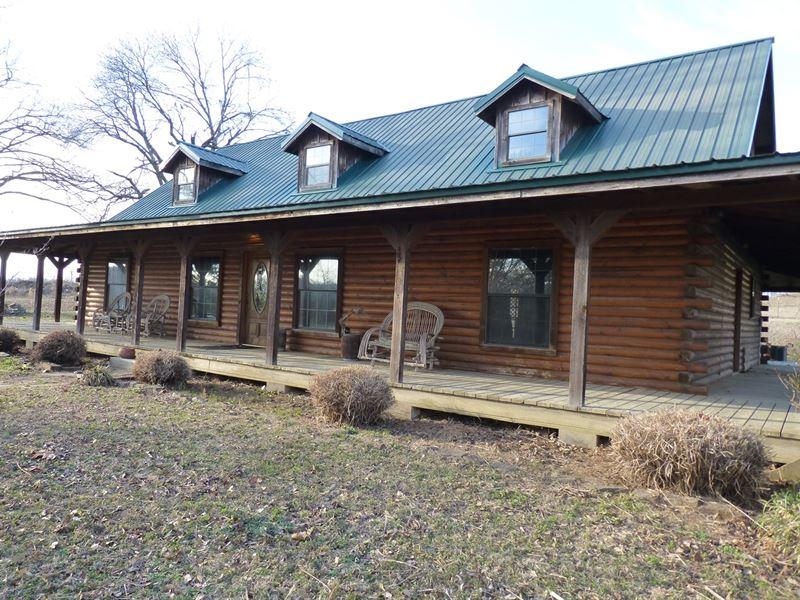 Satterwhite Log Cabin 10 Acres Farm For Sale Battiest