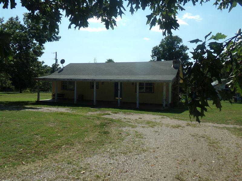 Country Home In Big Cabin Ok Farm For Sale Big Cabin