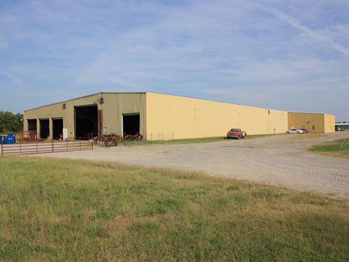 Industrial Facility Cushing, OK : Cushing : Payne County : Oklahoma