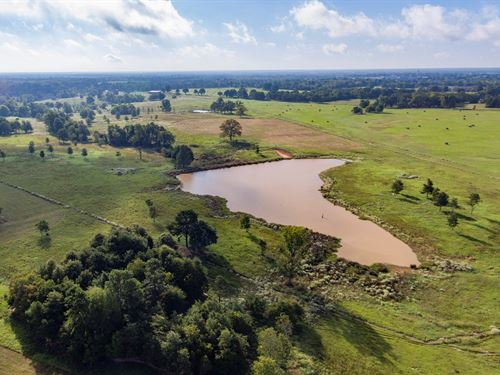 Cattle Ranch Country Home Red River : Grant : Choctaw County : Oklahoma