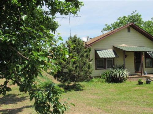 Country Home 20 Acres Hugo : Hugo : Choctaw County : Oklahoma