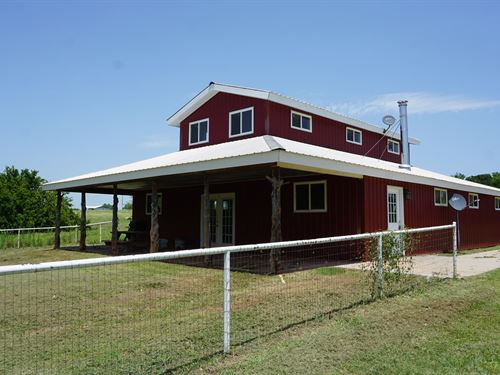 Livestock & Recreation Farm : Meeker : Lincoln County : Oklahoma