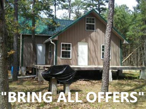 Mountain Cabin Property Pushmataha : Moyers : Pushmataha County : Oklahoma