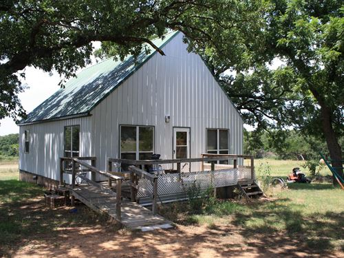 Central Oklahoma Country Cabin : Perkins : Lincoln County : Oklahoma