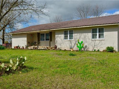 80 Acre Cattle Ranch Rattan : Rattan : Pushmataha County : Oklahoma