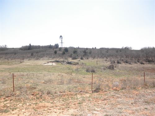 Hunting And Grazing Pasture Land : Reydon : Roger Mills County : Oklahoma