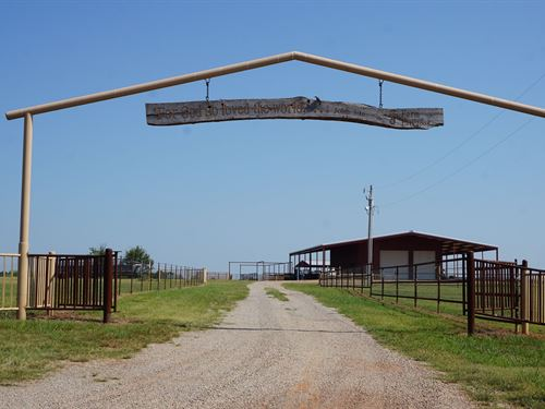 Cattle Ranch, 160 Acres, Central : Tryon : Lincoln County : Oklahoma