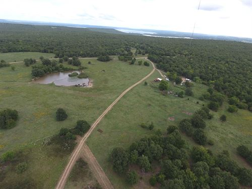 Country Home, 60 Acres, Stigler OK : Stigler : Haskell County : Oklahoma