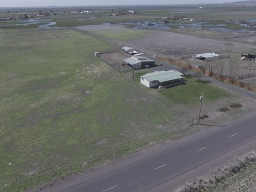 Horse Property Close To Town : Burns : Harney County : Oregon