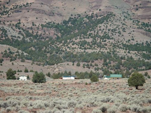 Fields, Alvord Desert Retreat : Princeton : Harney County : Oregon