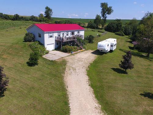 3 BR 2 BA Country Home 11+ Acres WI : Viroqua : Vernon County : Wisconsin