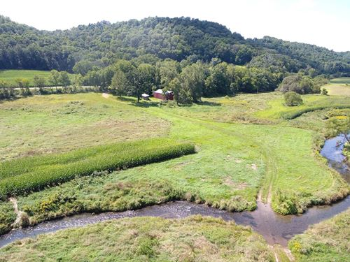 50 Acres Vacant Land Hunting : Viroqua : Vernon County : Wisconsin