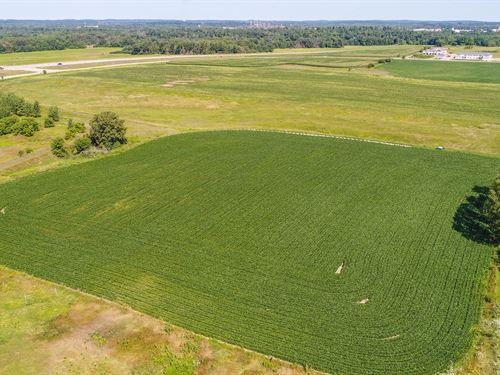 Land Central Wi, Crop Land : Waupaca : Wisconsin