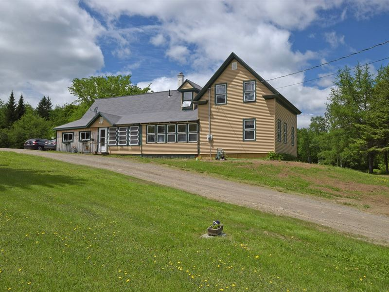 Maine Country Home in Mt, Chase : Mount Chase : Penobscot County : Maine