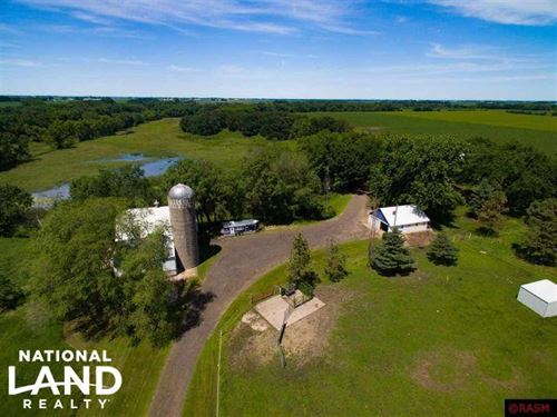 38 Acres, Home, Hunting, Pasture : Mapleton : Blue Earth County : Minnesota