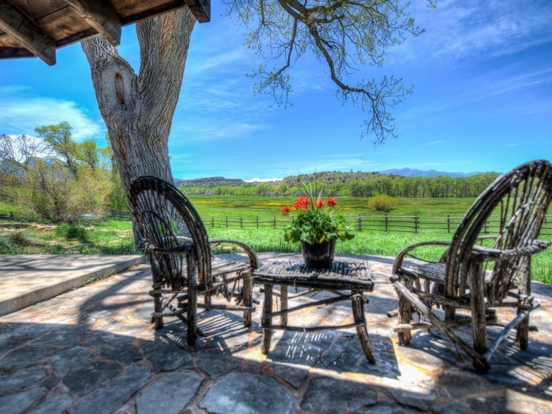 Old Ross Homestead : La Veta : Huerfano County : Colorado