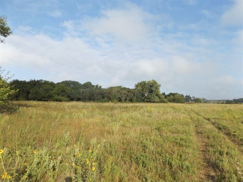 39.27 Acres Grassland,Timber & Pond : Nash : Grant County : Oklahoma