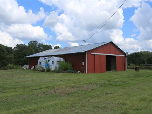 Horse Barn, Stables & 10 Acres : Montgomery : Alabama