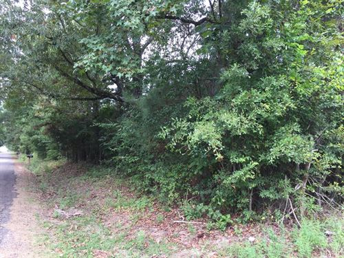 17+ Acres On A Quiet Country Road : Maud : Bowie County : Texas