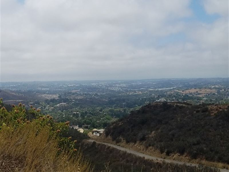 Vista View Lot : Vista : San Diego County : California