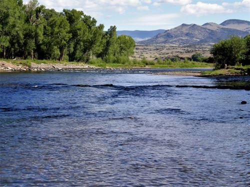 Rio Grande Riverfront Ranch : Del Norte : Rio Grande County : Colorado