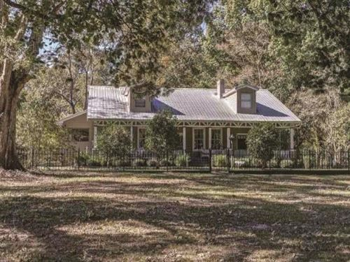 70 Acres With Home In Jefferson Cou : Church Hill : Jefferson County : Mississippi