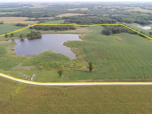 Mo Land, Lake Property,Farm : La Belle : Lewis County : Missouri