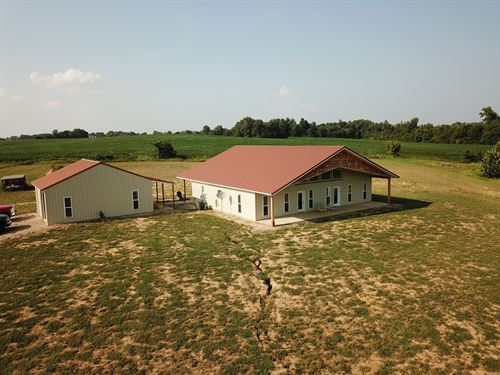 Secluded Home 20 Acres in S.E, MO : Puxico : Stoddard County : Missouri
