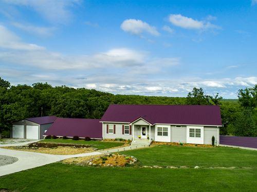 Lake Home, Truman Lake Property : Warsaw : Benton County : Missouri