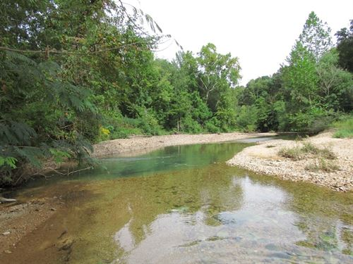 64.32 Acres Creek Road Frontage : Linden : Perry County : Tennessee