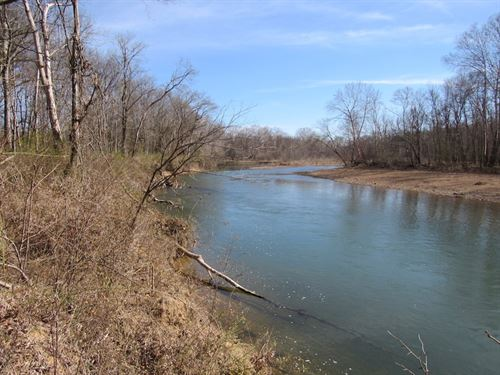 Buffalo River Front Property Linden : Linden : Perry County : Tennessee
