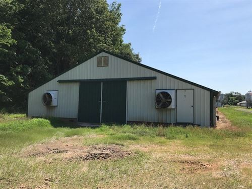 4 Broiler Poultry Houses Kentucky : Knob Lick : Metcalfe County : Kentucky