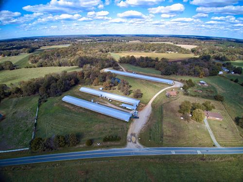 38 Acre Poultry Farm Home Waxhaw : Waxhaw : Union County : North Carolina