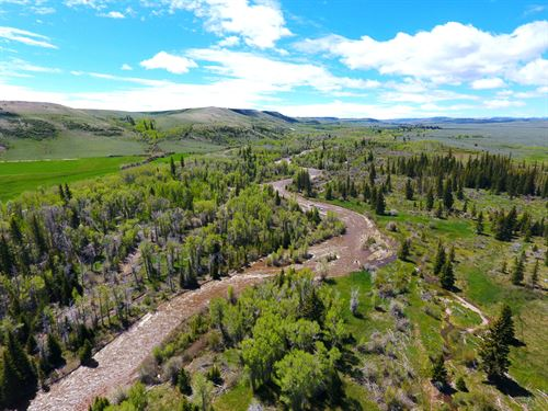 Ranch On The Blacks Fork River : Robertson : Uinta County : Wyoming