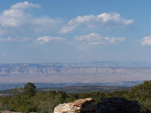35 Acre Mountain Homesite Grand : Glade Park : Mesa County : Colorado
