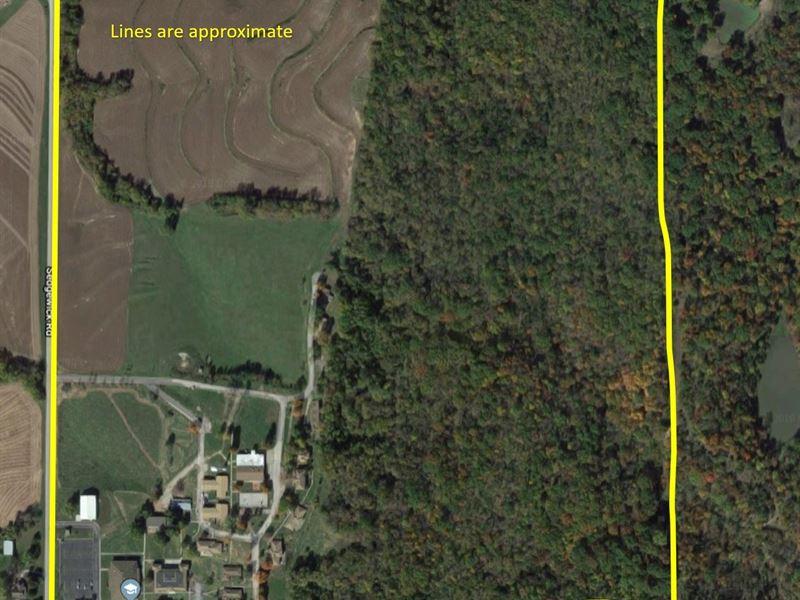 150 Acres M/L Complete Campus : Atchison : Atchison County : Kansas
