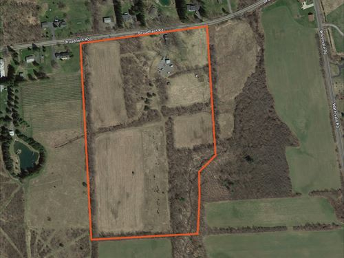 Gorgeous Country Home Site : Manlius : Onondaga County : New York