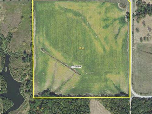 40 Acres Highly Productive Farmland : Stockport : Van Buren County : Iowa