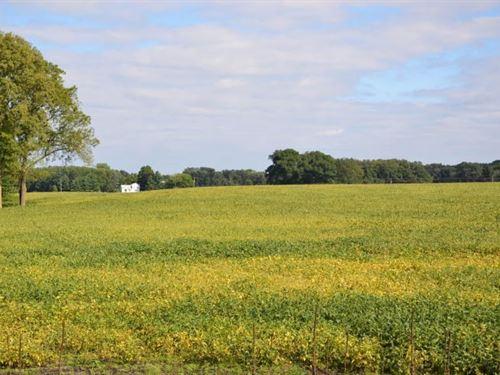 114 Acre Farm Located Branch County : Bronson : Branch County : Michigan