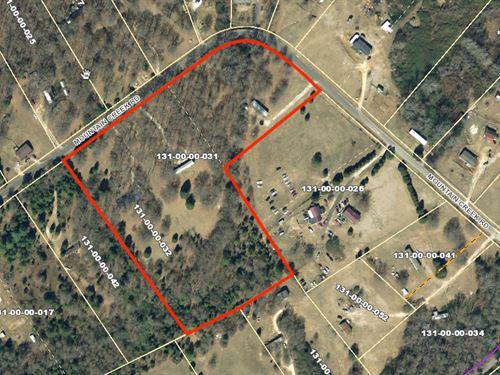 Mini Farm Acreage : Gray Court : Laurens County : South Carolina
