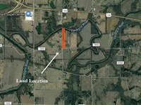 5.5 Wooded Acres : Coffeyville : Montgomery County : Kansas