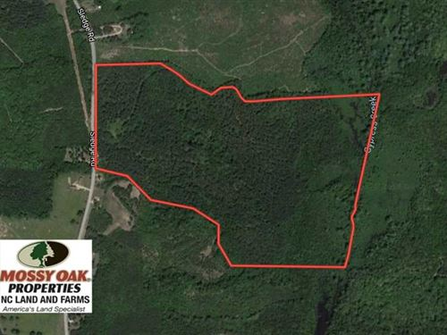 Under Contract, 104 Acres of Timb : Louisburg : Franklin County : North Carolina